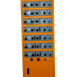 automatic powder control unit cabinet