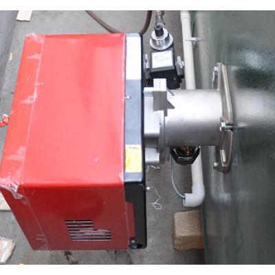 Buner for powder coating curing oven