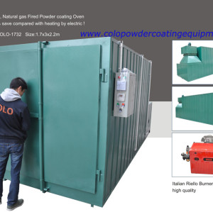 Gas Powder Coating  Cure Ovens