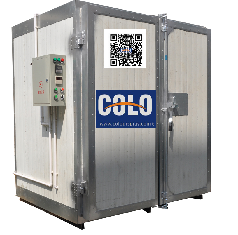 Product images pictures of powder coating oven for Paint curing oven