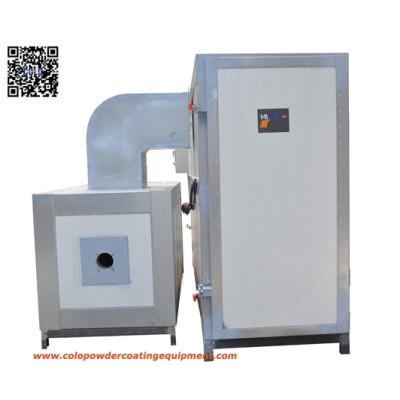 powder coat coating  LPG  curing oven