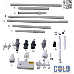 Pulver Sprühpistole C4 Ersatzteile