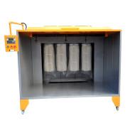 喷粉房,喷粉室,粉末回收系统