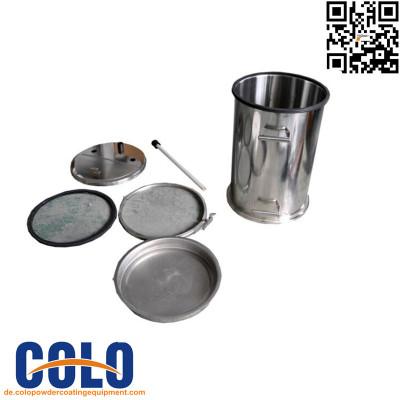 Pulverbeschichtungsanlage Behälter