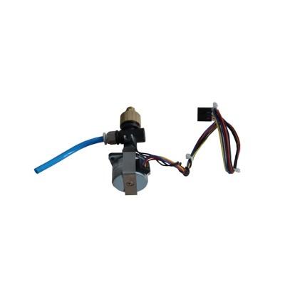 Throttle motor for control unit