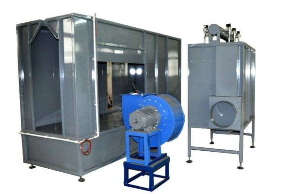 订做喷粉房,喷粉室,粉末回收系统生产厂家