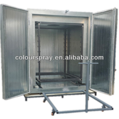 Manual electric powder curing oven