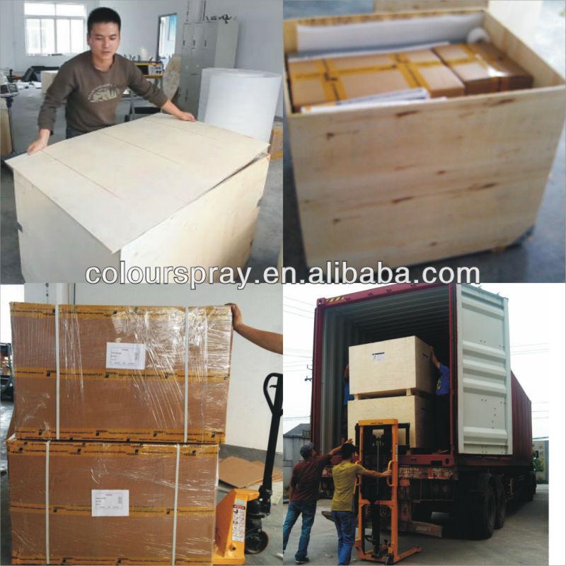 electrostatic powder coating booth