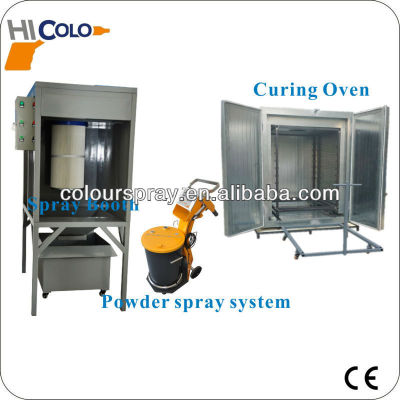 powder coating cabinet