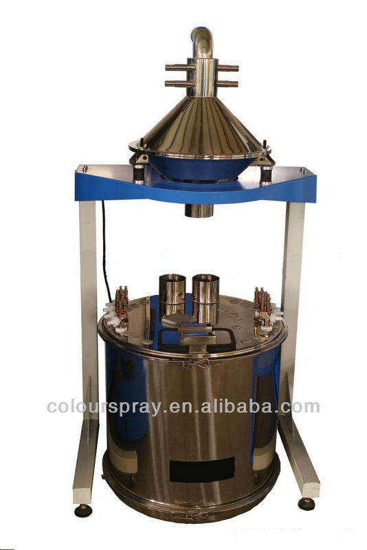 electrostatic powder coating steel sieving machine includ Hopper