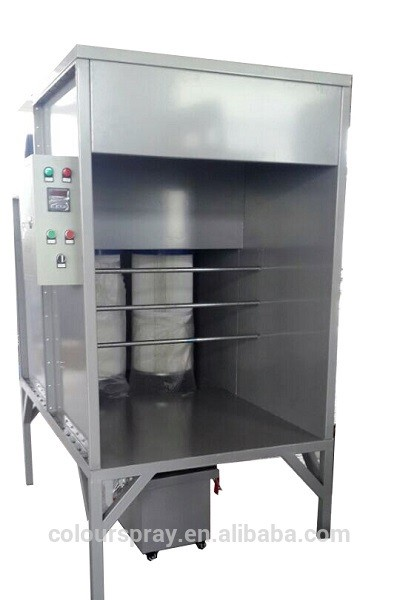 MINI manual powder paint coating curing oven
