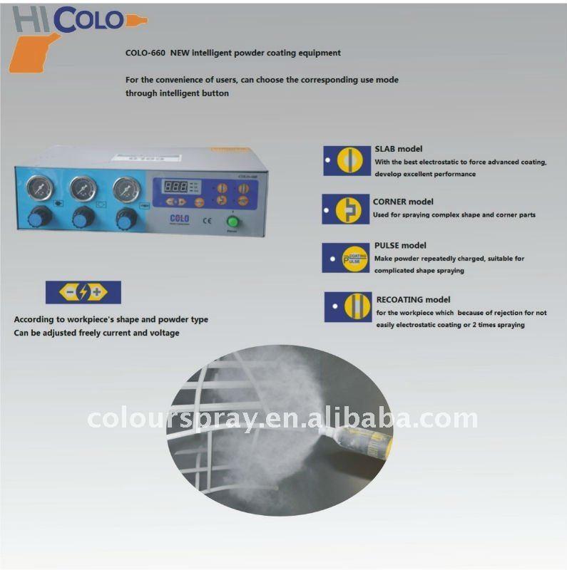 Laboratory dedicated Handy powder coating spray machine