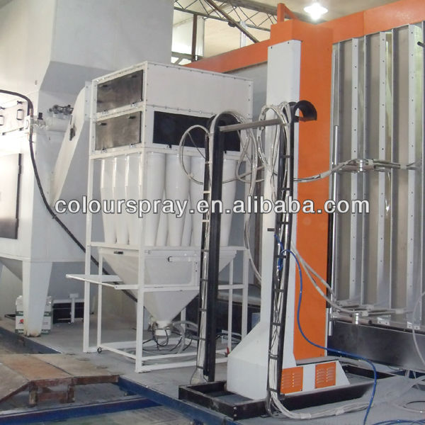 metal door powder coating equipment