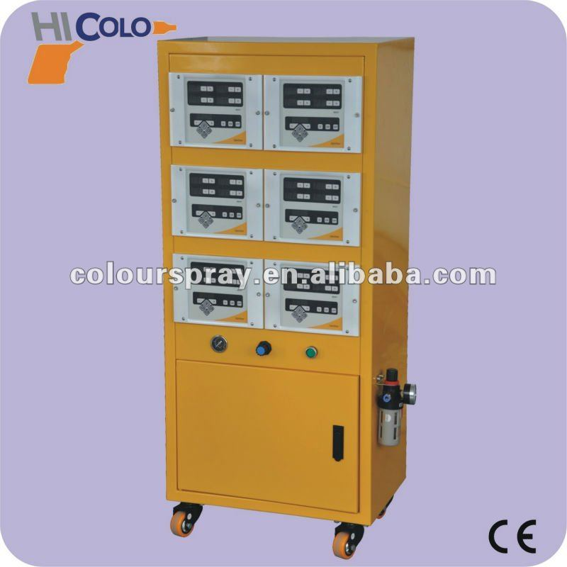 automatic powder paint coating reciprocator machine