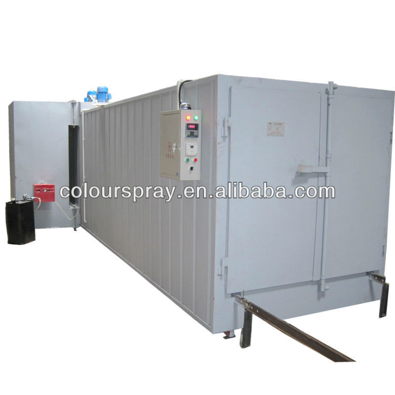 epoxy coating machine spray booth curing oven line