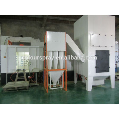 automatic powder coating line Cyclone system