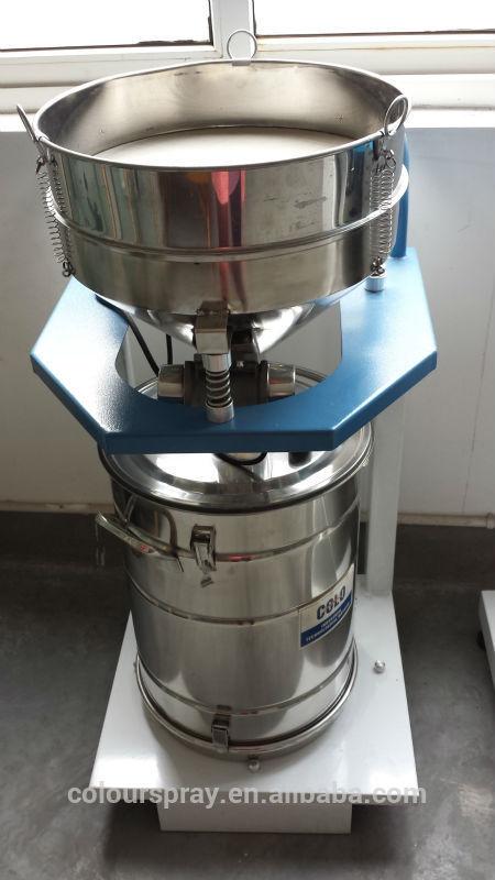 electrostatic powder coating steel sieving machine