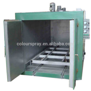 electrostatic powder painting curing oven system