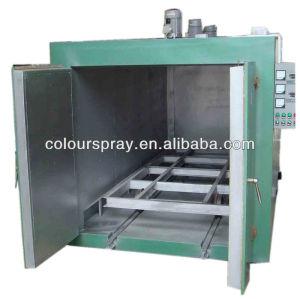 electrostatic powder paint coating oven