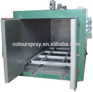 powder coating equipment line curing GAS Oven