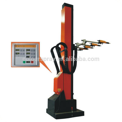 automatic powder paint coating reciprocator machine