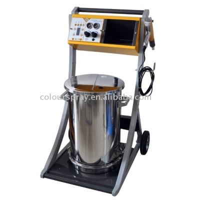 newest powder coating machine trolley/cat