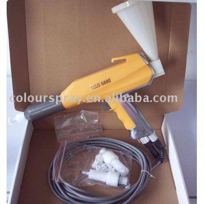 test powder spray gun