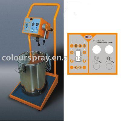 metal powder coating machine