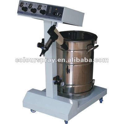 thermosetting powder coating machine
