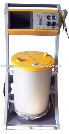 epoxy powder coating machine