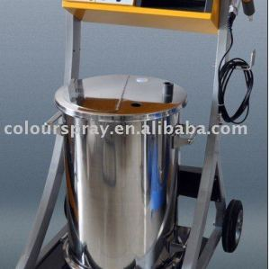 new design powder coating machine
