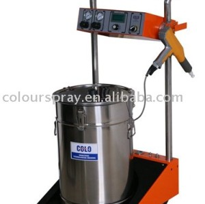 Electrostatic powder coating spray equipment