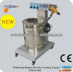 frame powder coating machine