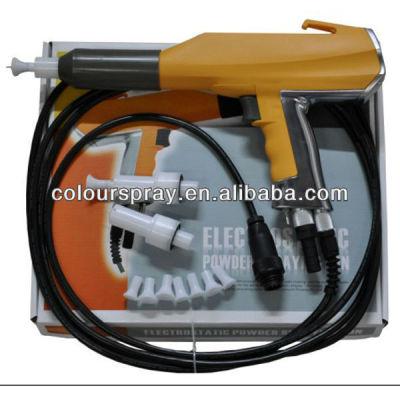 electric powder coating gun