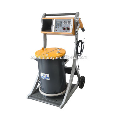 New easy pulse funktion powder coating equipment