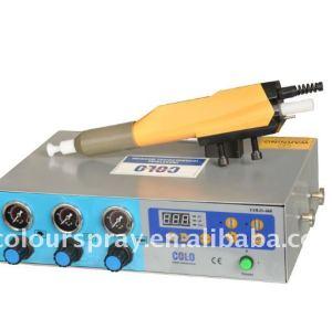 automatic electrostatic powder coat application equipment