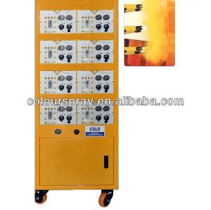 automatic powder coating unit