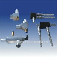 Electrostatic powder coating Gun Powder injector spare parts