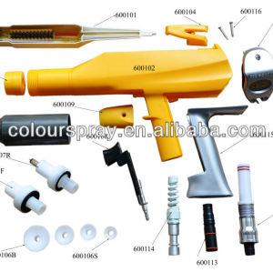 1002 100 powder spray gun parts