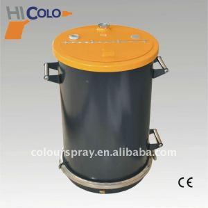 black powder coating hopper