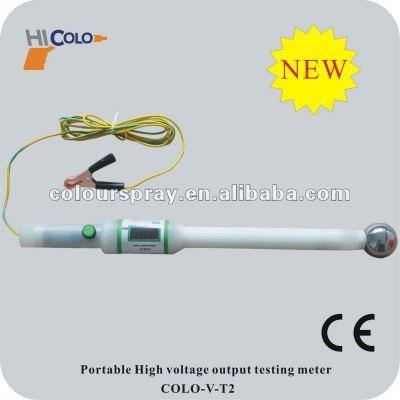High voltage output tester