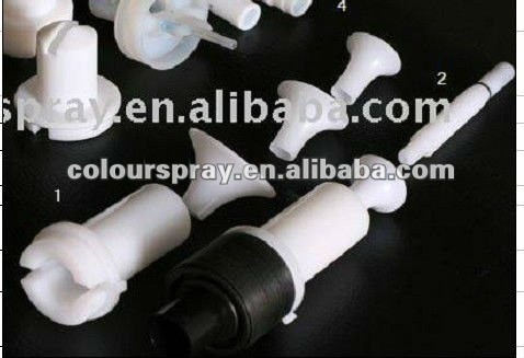 powder coating spray machine venturi powder pump Nozzle Deflector