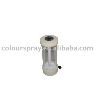 electrostatic hopper powder coating unit