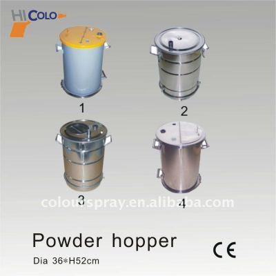 small 45L powder tank
