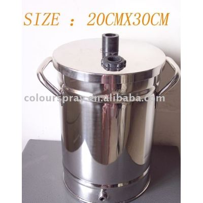 small size Powder hopper (powder container)