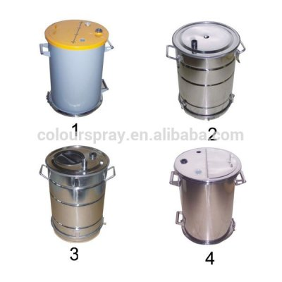 powder coating container tank hopper