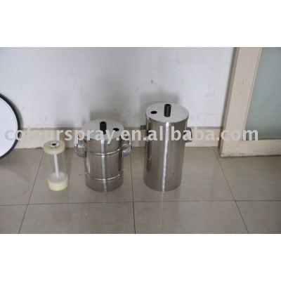 powder coating machine powder tank