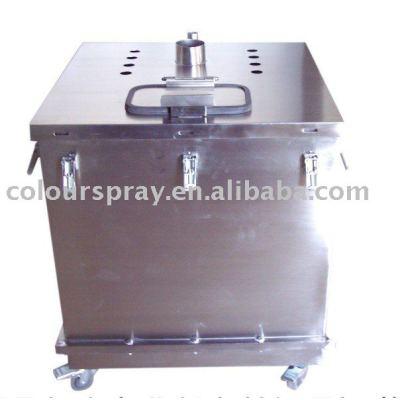 Big Hopper (Powder Bin) (spare part of electrostatic coating equipment)