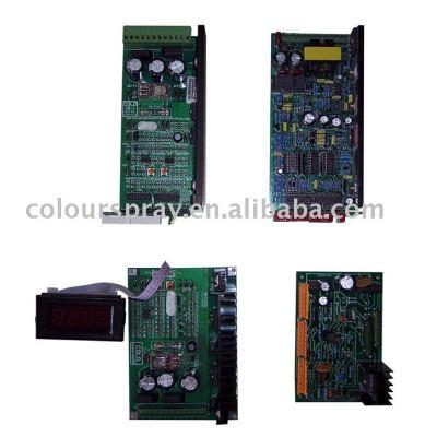 Circuit board (powder coating spray machine Circuit board )
