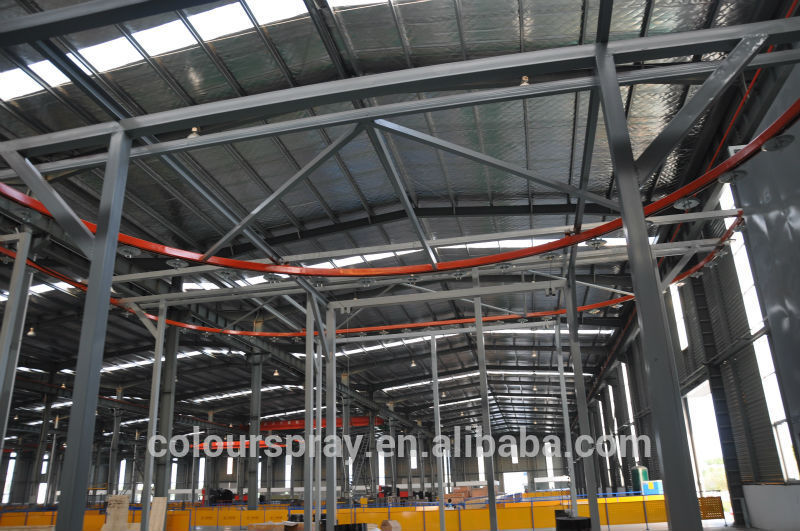 powder coating line Conveyor chains Crawler load limit driving seat